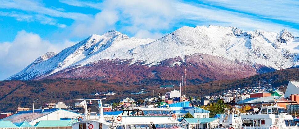 Best travel time for Tierra del Fuego in southern Argentina