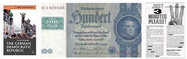 The Literature of the German Democratic Republic 1
